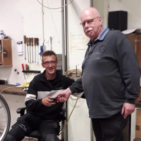 Jan lucas met deelnemer Aaldrik site