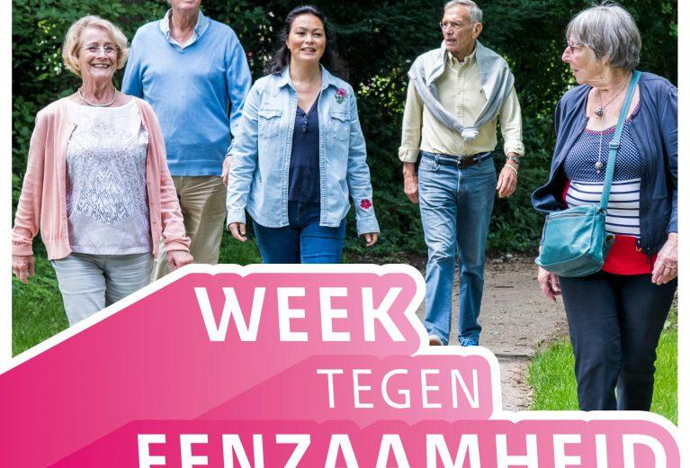 Week tegen eenzamheid: 1 t/m 8 oktober