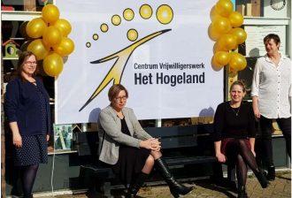 Barbara van den Burg, wethouder Mariette de Visser, Irma Schuurman en Cora Top (vlnr).Foto: Eemskrant.nl