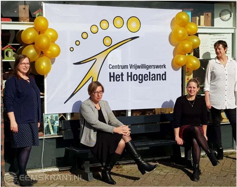Steunpunt Vrijwilligerswerk is Centrum vrijwilligerswerk Het Hogeland